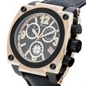 Picture of Polanti Torque Mens Rose Color Black Stainless Steel watch