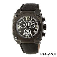 Picture of Polanti Torque Mens Black Stainless Steel watch