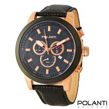 Picture of Polanti Rogue Mens Chrono Rose Stainless Steel watch